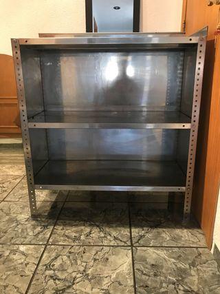 Mesa de cocina profesional acero