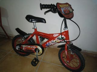 """bicicleta rayo McQueen 12"""""""