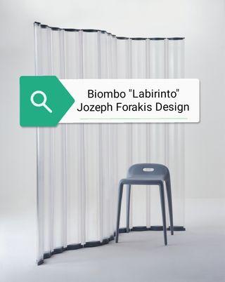 "Biombo ""Labirinto"" Enrollable de Jozeph Forakis"