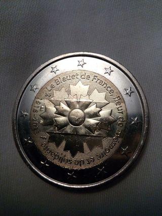 Moneda 2 euros Francia 2018