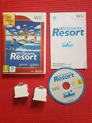 Wii Sports Resort + 2 Wii motion