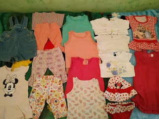 Lote de ropa niña 12 meses-18meses