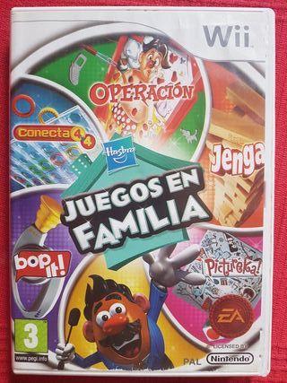 Wii Juegos En Familia