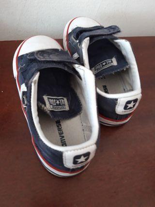 Zapatillas niño Converse T.27