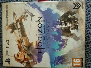 juego para PS4 Horizon Zero Dawn edición limitada