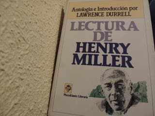 Lectura de Henry Miller