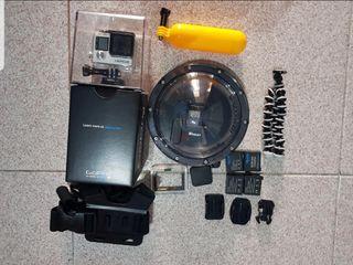 GoPro 4 BLACK + Accesorios