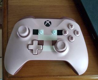 Mando Xbox one Rosa Minecraft