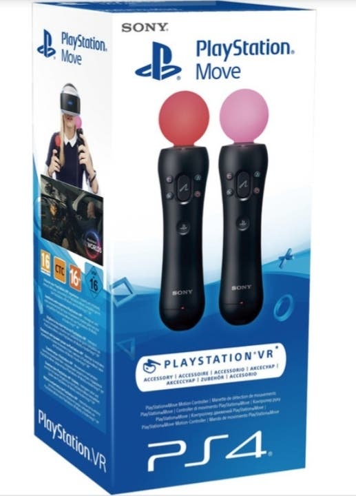 Mandos Sony Play-Station 4 VR Move Controller