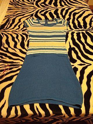 vestido de hilo poco uso seminuevo