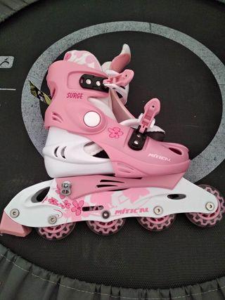 patines nuevos niña