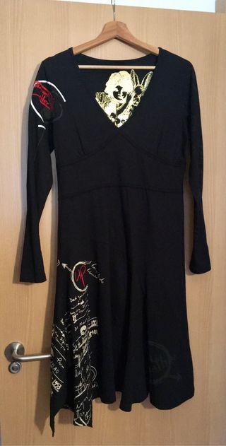 Vestido Desigual original negro Talla XL