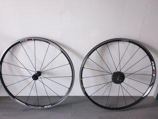 Ruedas bicicleta carretera 11v Shimano