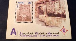 Sello Exfilna 2000
