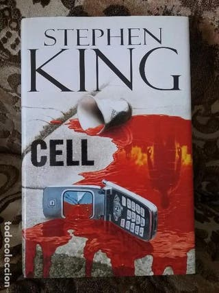 Libro Cell de Stephen King