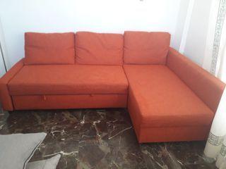 Sofa cama FRIHETEN con Cheiselonge