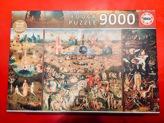 PUZZLE 9000 piezas, JARDIN DE LAS DELICIAS