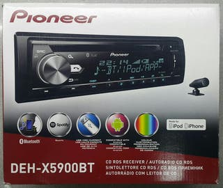 Pioneer DEH-X5900BT CD Bluetooth Manos libres