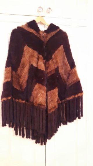 vendo capa vison tricotada