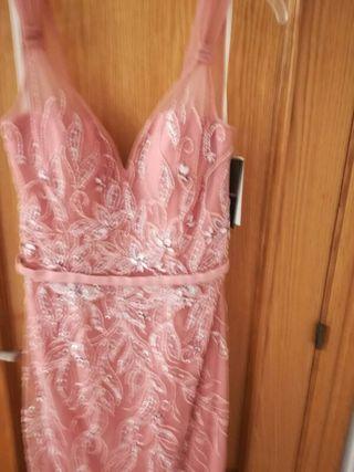 c7041de6db Vestido de fiesta Rosa Clara de segunda mano en WALLAPOP