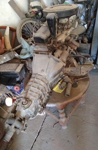 se vende motor Seat 124 2.000 gasolina con carbura