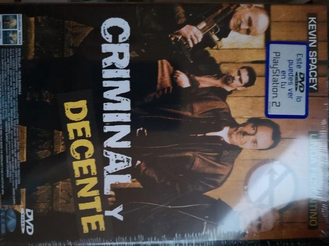 DVD original criminal y decente