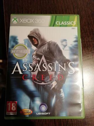 juego Xbox 360 Assassin's Creed
