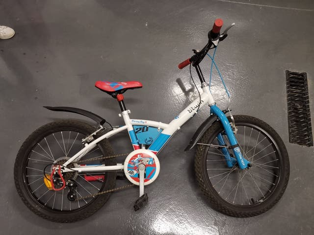 bicicleta infantil de 20 pulgadas