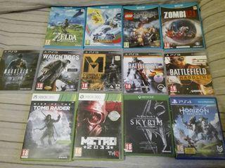Juegos de varias consolas