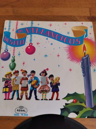 Disco de Vinilo 1960s desfile de Villancicos