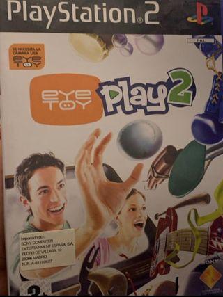Juego Eye Toy 2 para PS2