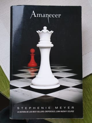 "Libro ""Amanecer"""