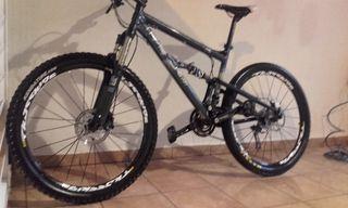 bici btt 26'' doble suspensión