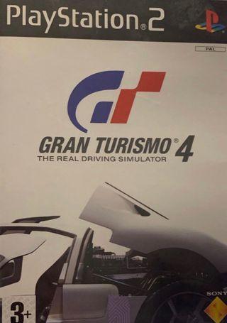 GT4 para PS2