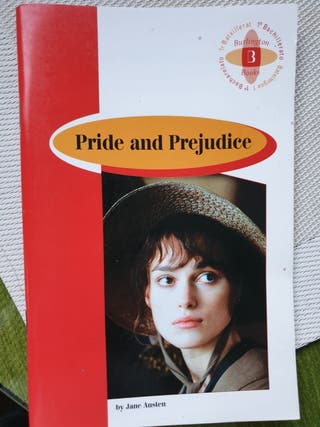 Lectura 1° Bach Inglés Pride and Prejudice