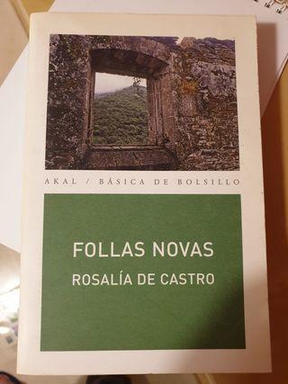 """Libro """"Follas Novas"""""""
