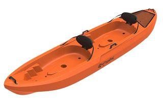 kayak doble con remos nuevo