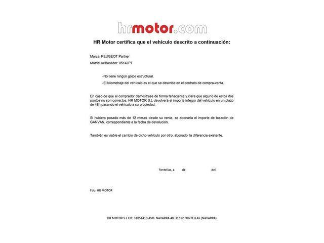 PEUGEOT Partner Tepee 1.6HDI Access 75
