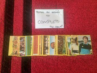 Colección completa cromos Fútbol en acción Danone