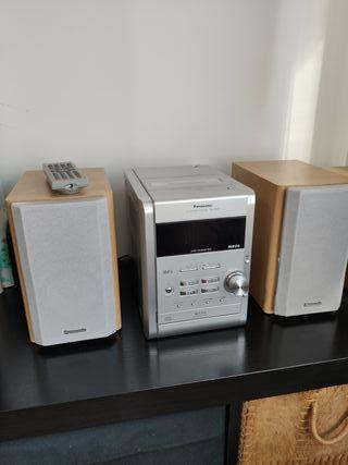 Equipo de música mp3 Panasonic