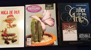 Colección de libros de artesanía