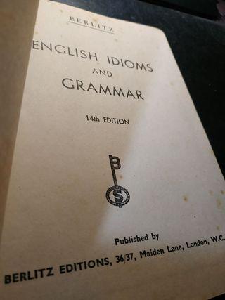 Berlitz - English Idioms and Grammar - Antic