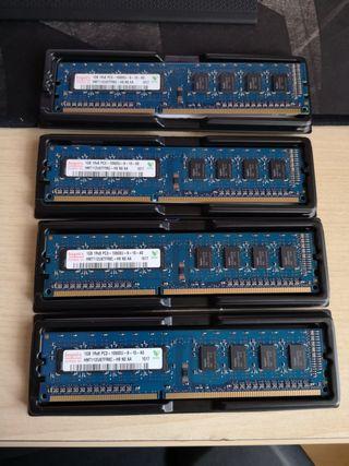 Memoria RAM 1GB PC3 10600U Hynix