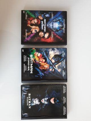 3 DVDS BATMAN