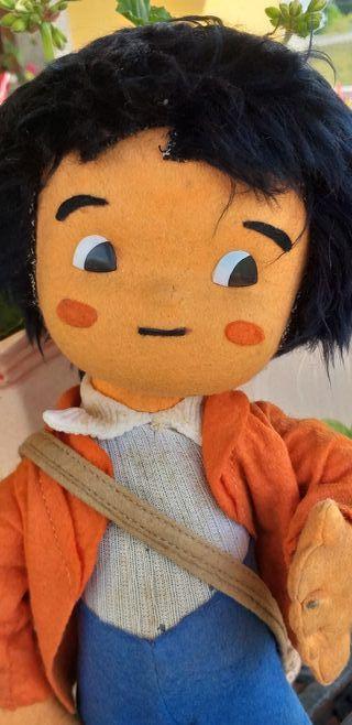 Antiguo muñeco Marco de los 70