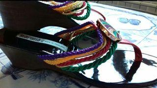 Sandalias de colores n° 39-40