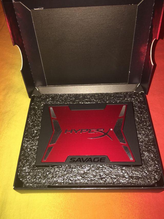 DISCO DURO SSD 240 Gb KINGSTON HYPERX SAVAGE