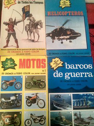 4 álbumes completos. Colección mis cromos 1979
