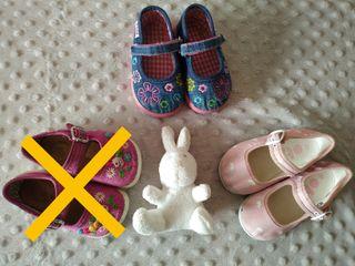 lote zapatillas numero 19 y 20