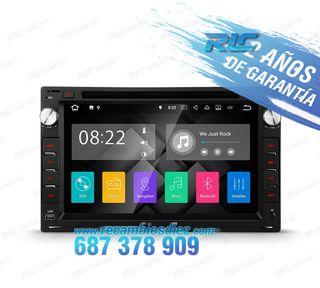 "RADIO NAVEGADOR ANDROID 7.1 7"" SEAT USB GPS TACTIL"